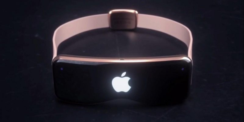 Грядущую гарнитуру Apple VR необходимо будет подключать к iPhone (apple vr headset render)