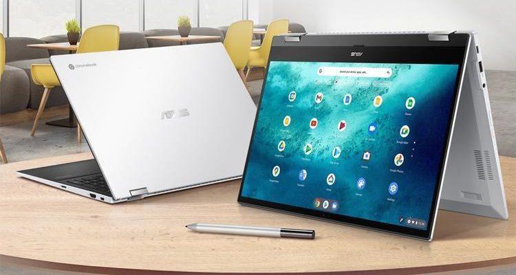 CES 2021: гибридный ноутбук от ASUS с Chrome OS и стилусом (flip1)