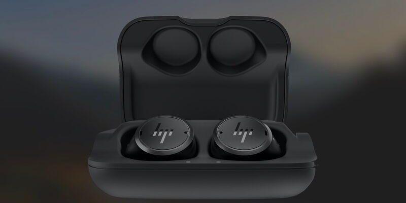 CES 2021: HP представила свои первые наушники с шумоподавлением (hp elite wireless earbuds)