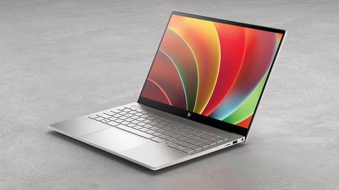 Компьютеры HP готовы для работы на Windows 11 (hp envy 14 frnt left)