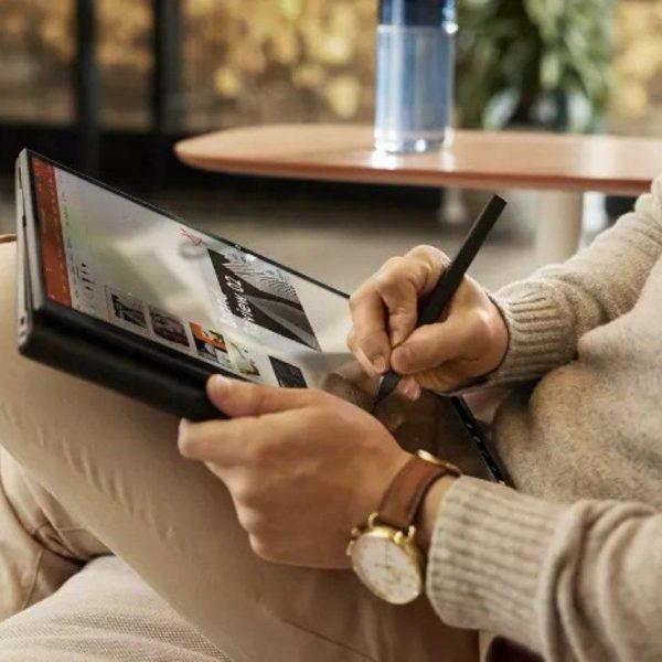 CES 2021: HP представила ноутбуки для удаленной работы (hp elite folio)