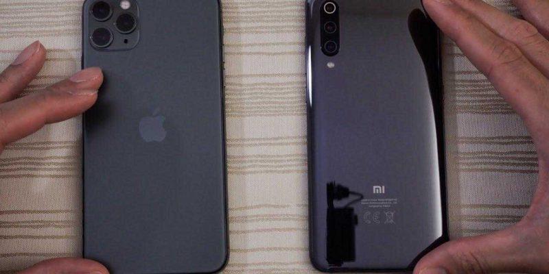 Xiaomi Mi 11 оставил iPhone 12 Pro Max позади в тесте скорости Wi-Fi (iphone 11 vs xiaomi mi 9t pro)