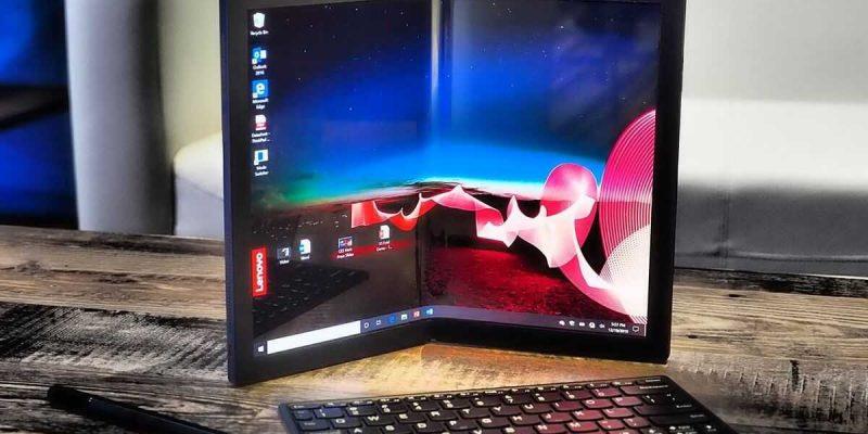 Ноутбуки со складными экранами будут очень дорогими (lenovo thinkpad x1 fold)