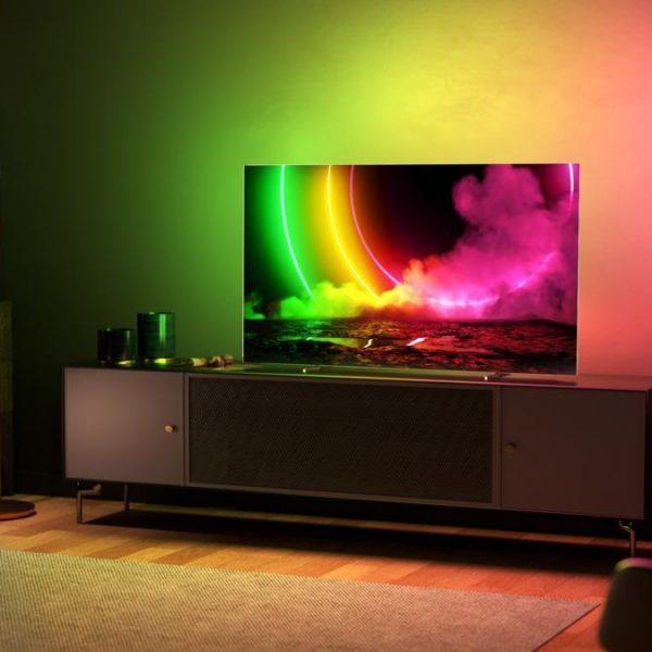 Представлен умный телевизор Philips OLED 806 (oled806 65 is 01)