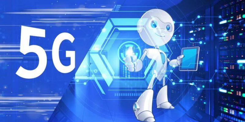 5 трендов технологий в 2021 году (5g for robot)