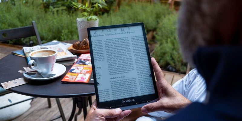 Выпущена новая 7,8-дюймовая электронная книга PocketBook за 329 долларов (8nwlqjlg)