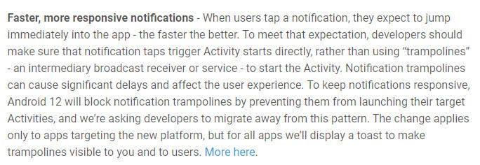 Android 12 избавится от раздражающих уведомлений (android 12 notification system 1)