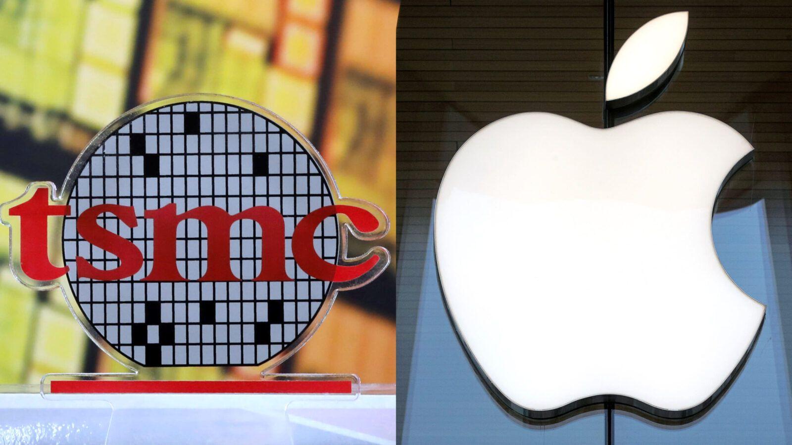 Apple сотрудничает с TSMC в разработке микро-OLED-дисплеев для очков (apple tsmc scaled)