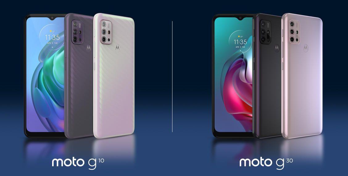 Motorola выпустила смартфоны среднего класса Moto G30 и Moto G10 (bild4)