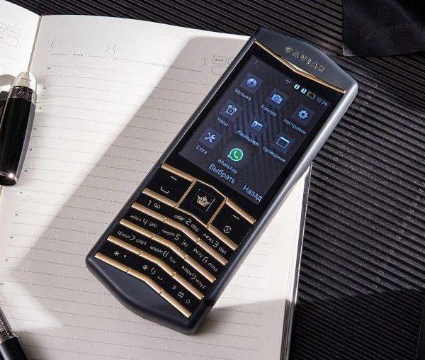 Caviar представила новый телефон премиум-класса. Он довольно необычный (caviar origin android push button phone 770x508 1)