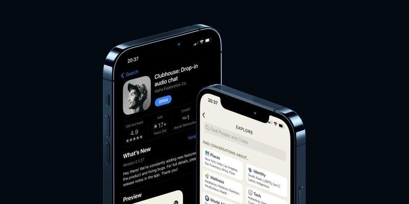 Clubhouse скачали 8 миллионов раз в App Store (clubhouse)