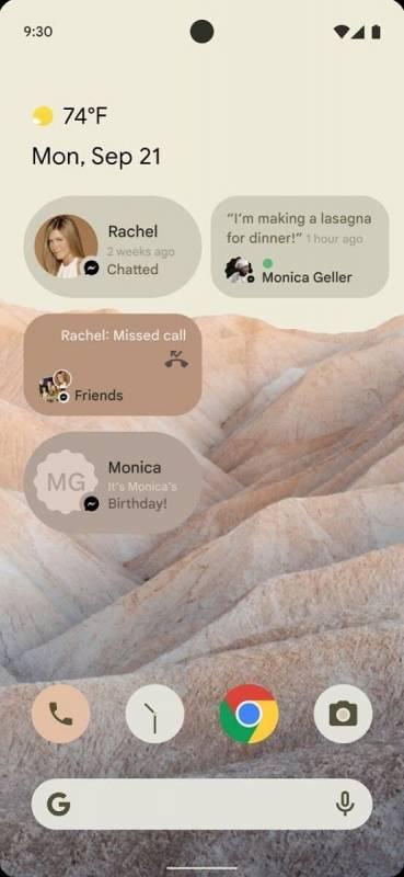 В сеть слили первые скриншоты Android 12 (early android 12 mockup 1 369x800 1 1)