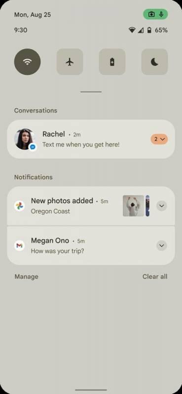 В сеть слили первые скриншоты Android 12 (early android 12 mockup 2 369x800 1 1)