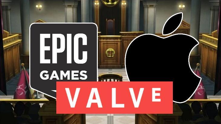 Valve должна предоставить Apple некоторые данные о продажах в Steam (epic games apple valve 02 19 2021)