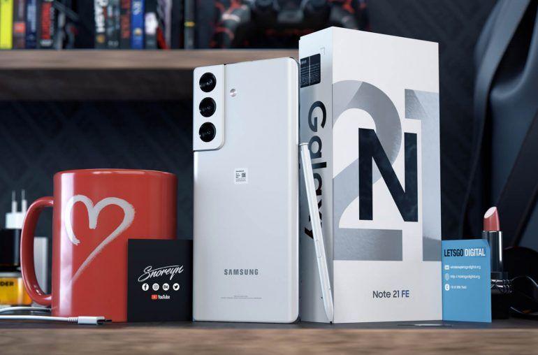 Фотографии распаковки Samsung Galaxy Note21 FE (galaxy note 21 fe 770x508 1)