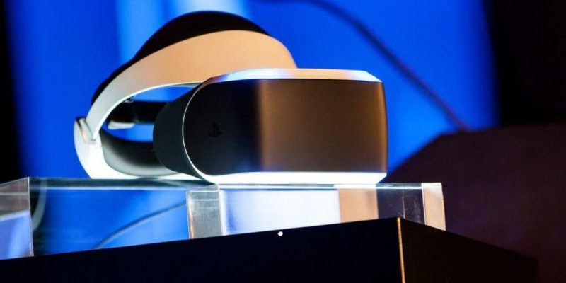 Sony анонсировала VR-шлем для консоли Sony PlayStation 5 (gdc sony reveals project morpheus playstation 4 vr hgr5)