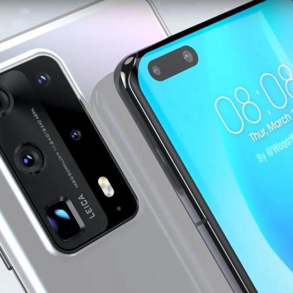 Дешёвый Huawei P40 уже на подходе (huawei p40 front side leaked)
