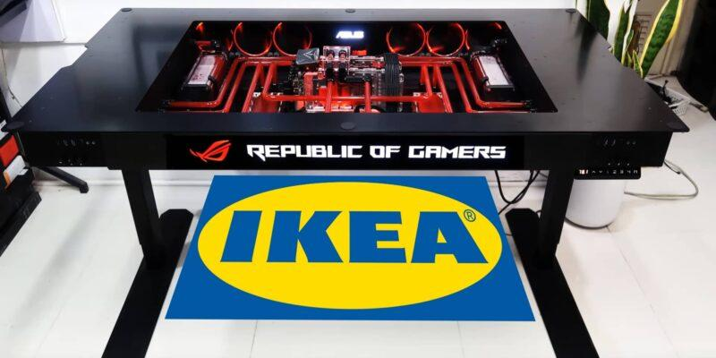 Asus и IKEA совместно создают мебель и аксессуары для геймеров (ikea a nabytek asus rog 0)
