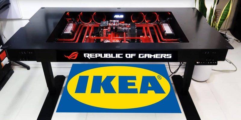 Asus и IKEA совместно создают мебель и аксессуары для геймеров (ikea a nabytek asus rog 0 e1612620442189)