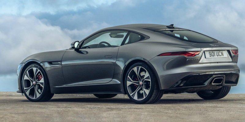Jaguar не будет выпускать автомобили с двигателями внутреннего сгорания (jaguar f type 2021 1600 2d d 850)