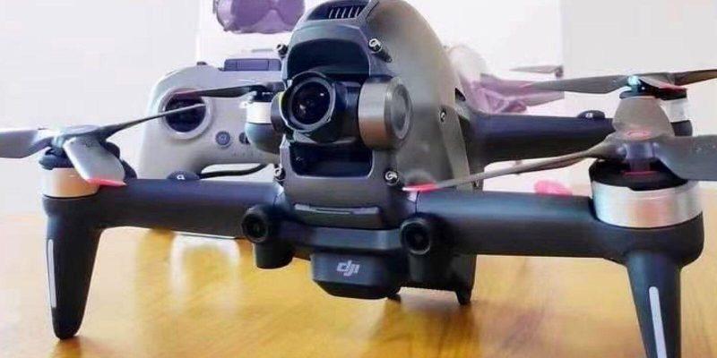 Новейший дрон DJI засветился в видео до официального анонса (leaked this is the new dji fpv drone .001)