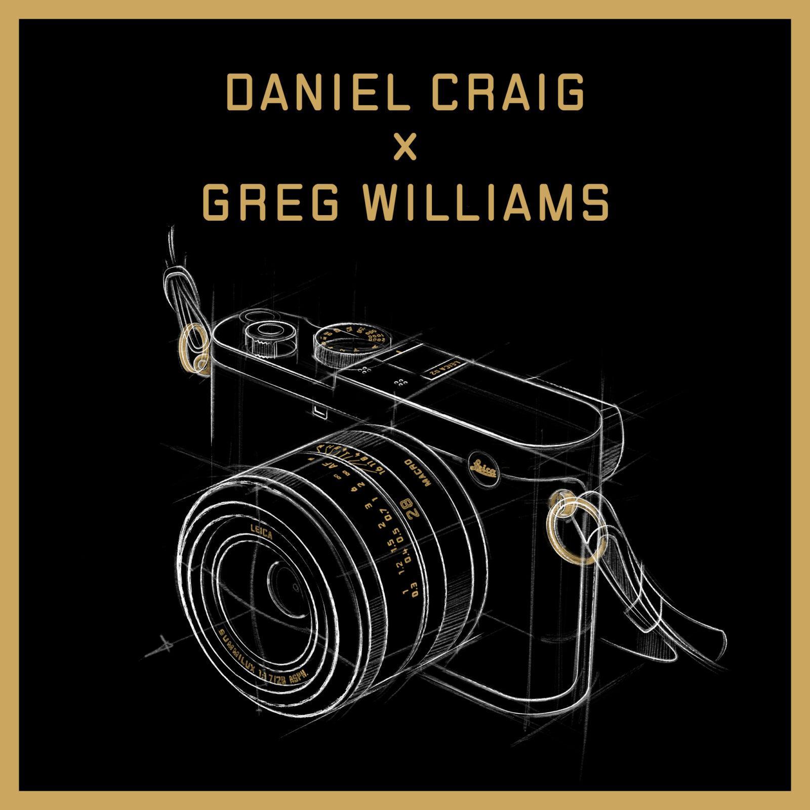 Leica объединилась с Дэниелом Крэйгом и Грегом Уильямсом чтобы выпустить новую версию камеры Leica Q2 (leica q2 daniel craig x greg williams)