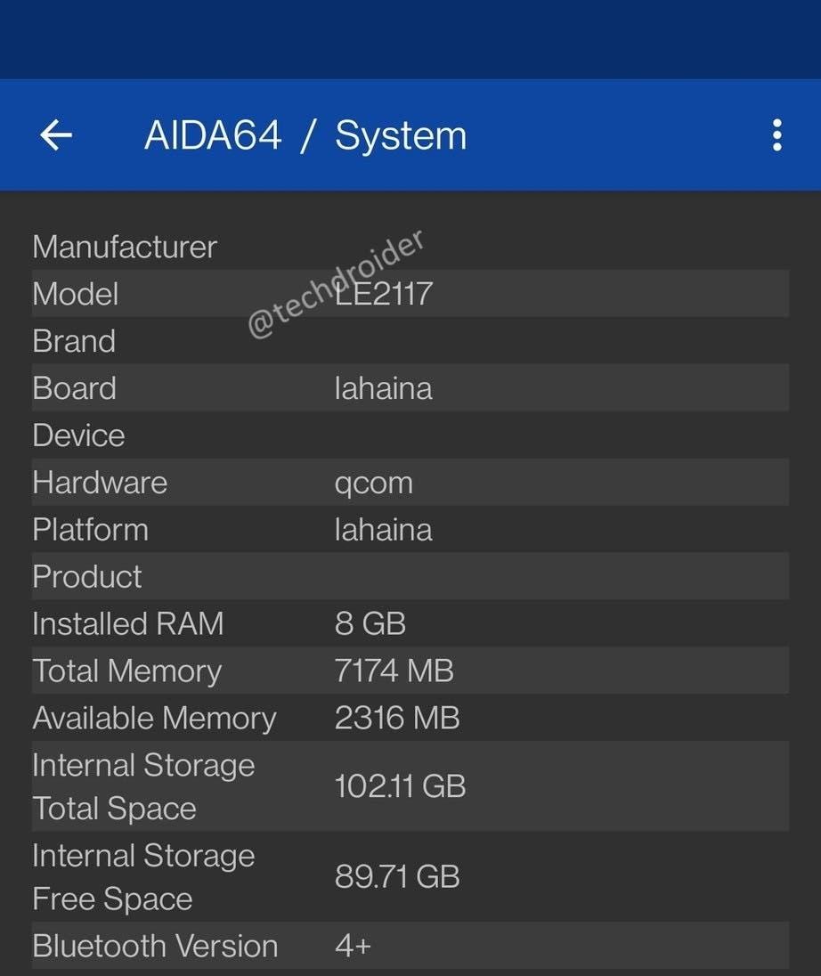 Характеристики грядущего флагмана OnePlus 9 подтверждены (oneplus 9 4 2)