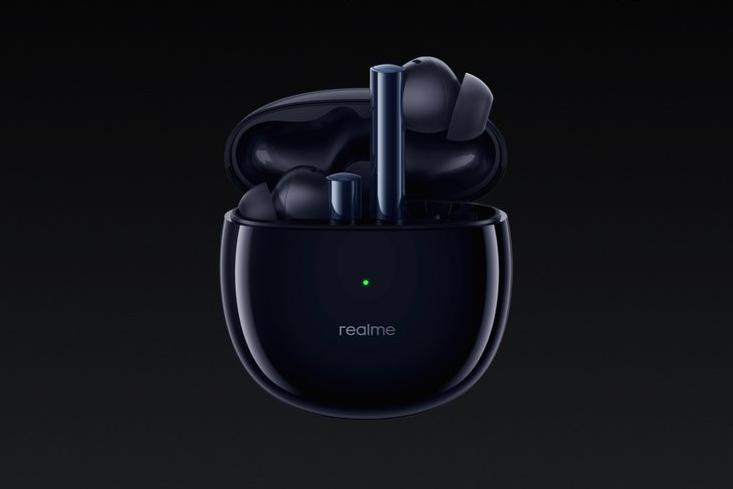 Realme представила беспроводные наушники Realme Buds Air 2 (realme buds air 2 closer black featured)