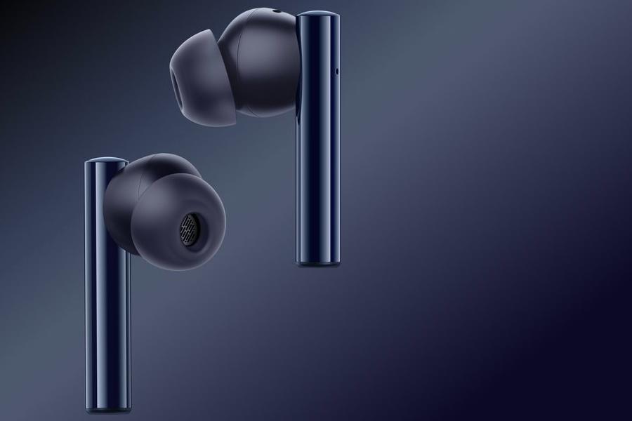 Realme представила беспроводные наушники Realme Buds Air 2 (realme buds air 2 closer black)