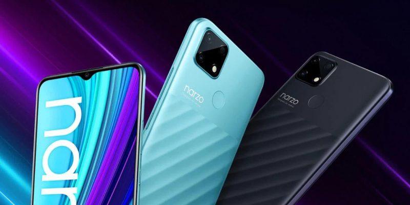Realme представила бюджетный смартфон Narzo 30A с батареей 6000 мАч (realme narzo 30a 1)
