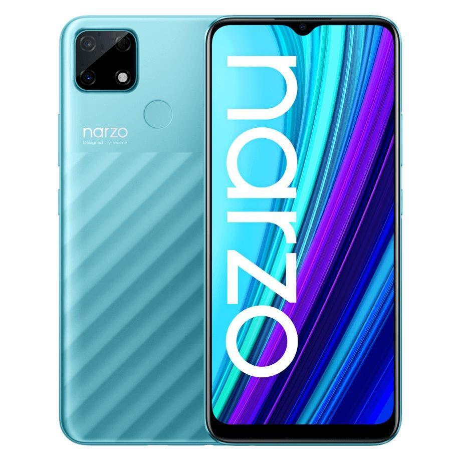 Realme представила бюджетный смартфон Narzo 30A с батареей 6000 мАч (realme narzo 30a 2)
