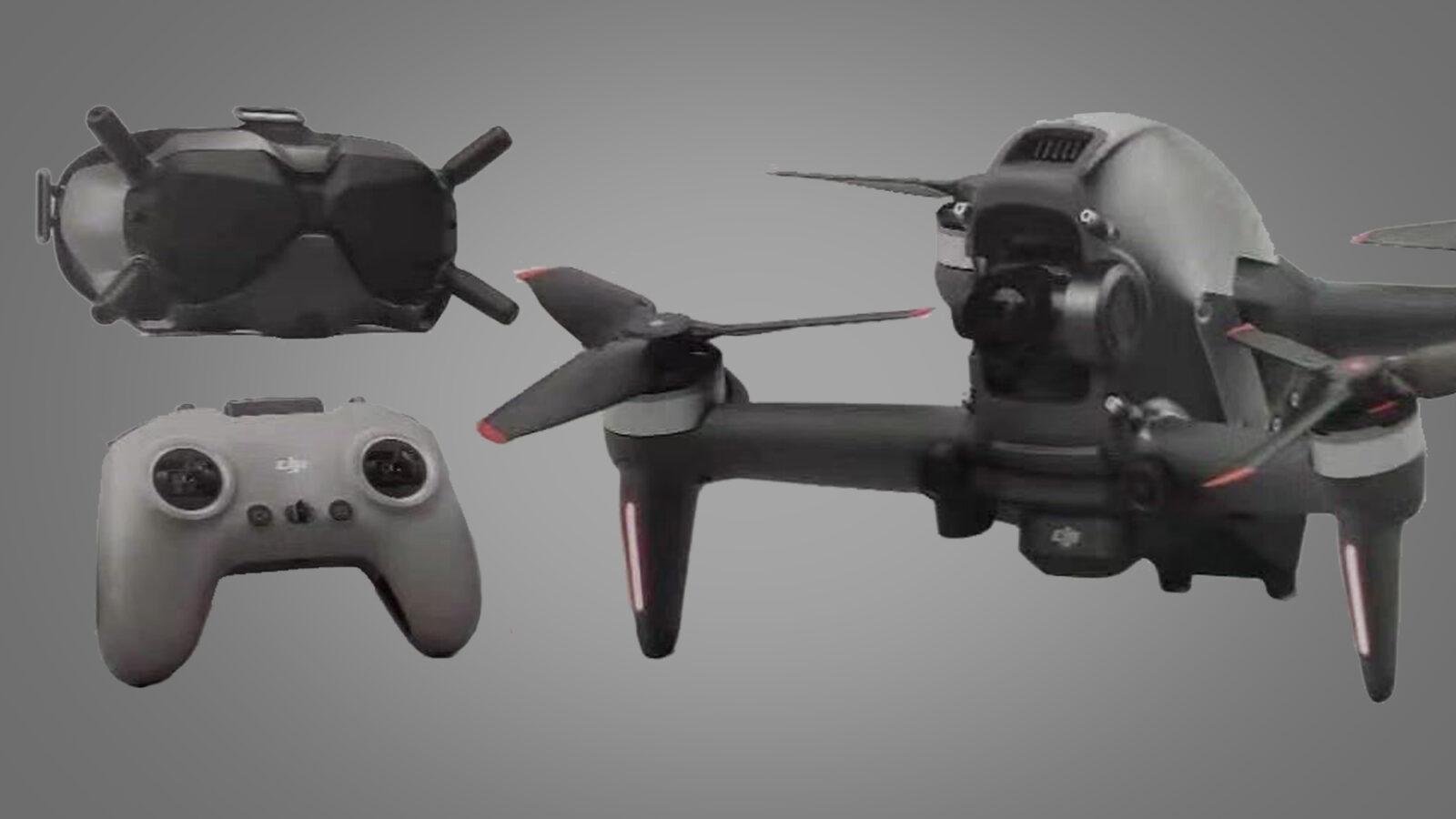 Новейший дрон DJI засветился в видео до официального анонса ()