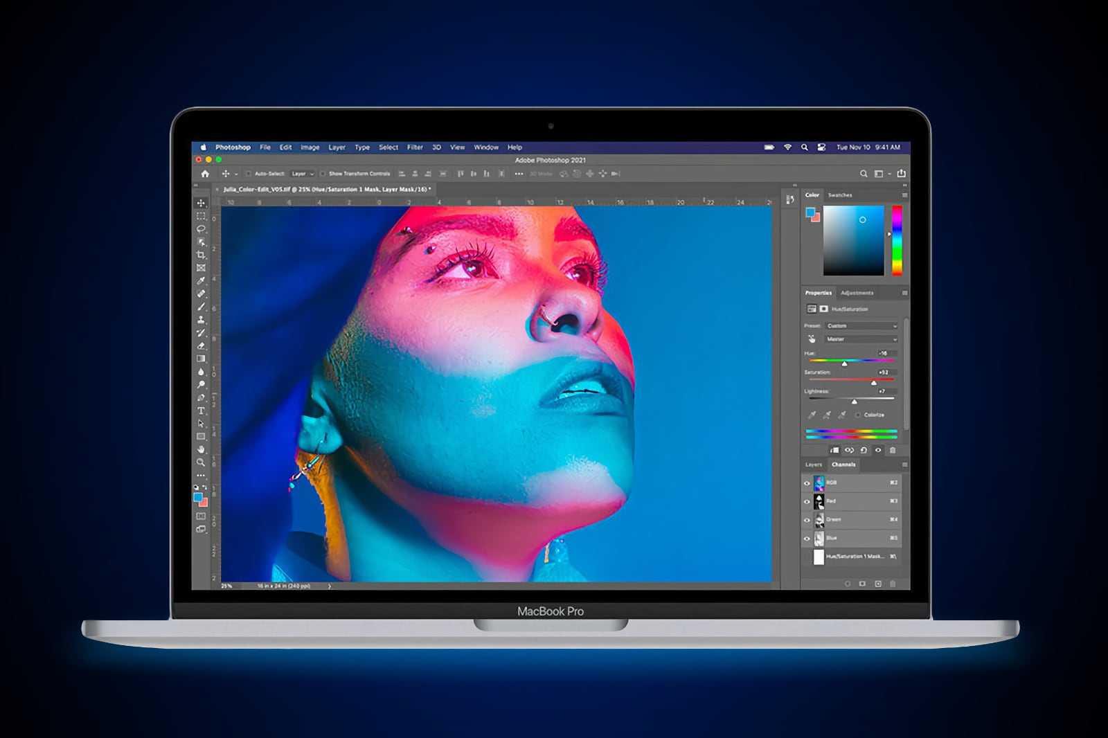 Значительное обновление приложений под Mac с M1: DaVinci Resolve, Adobe Photoshop, Octane X (479359 ijrncilfio mac)