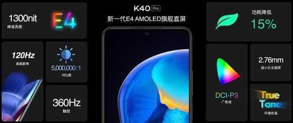 Смартфон Redmi K40 получил лучший плоский экран на рынке (4e9a5396 2efa 48f9 a21d f2bbbebbb308)