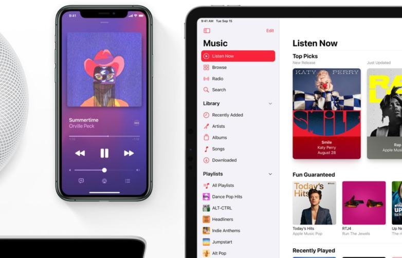 iOS 14.5 не позволит выбрать новый музыкальный сервис по умолчанию (apple music)