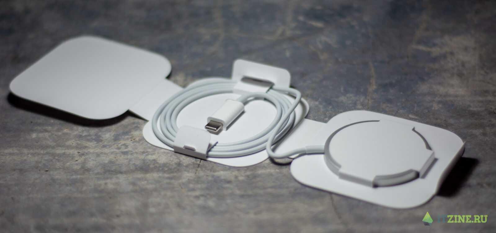 Обзор Apple MagSafe для iPhone 12 (apple magsafe 07)