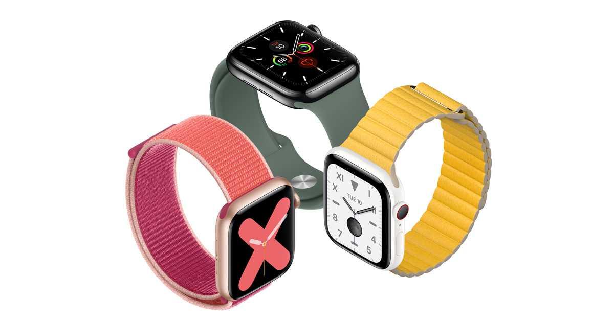 В прошлом году было продано более полумиллиарда носимых устройств (apple watch series 5 introduces always on retina display 091019.jpg.og)