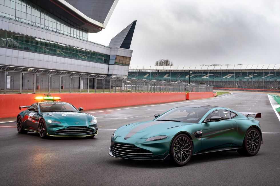 Aston Martin Vantage F1 Edition - это больше, чем просто внешний вид (aston martin vantage f1 edition 005)