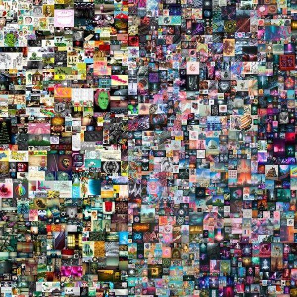 Первая в России выставка NFT-искусства пройдёт в Эрмитаже (beeple sold an nft for 69 million at first of its kind auction at christies)