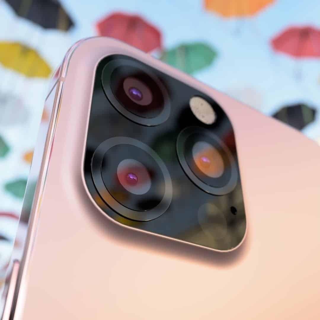 В сеть слили рендеры флагмана iPhone 12s Pro в розовом цвете
