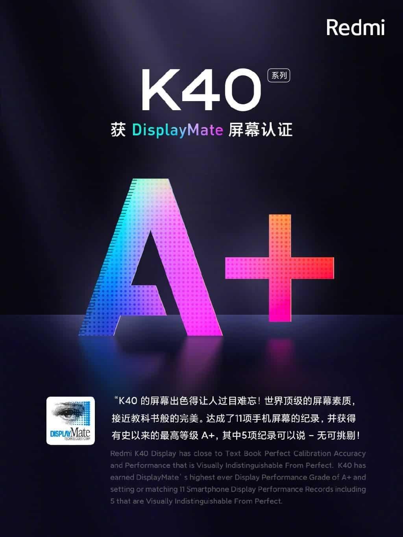 Смартфон Redmi K40 получил лучший плоский экран на рынке (ed0efb91 ef13 4475 bc8f c35ad35f6bb2)