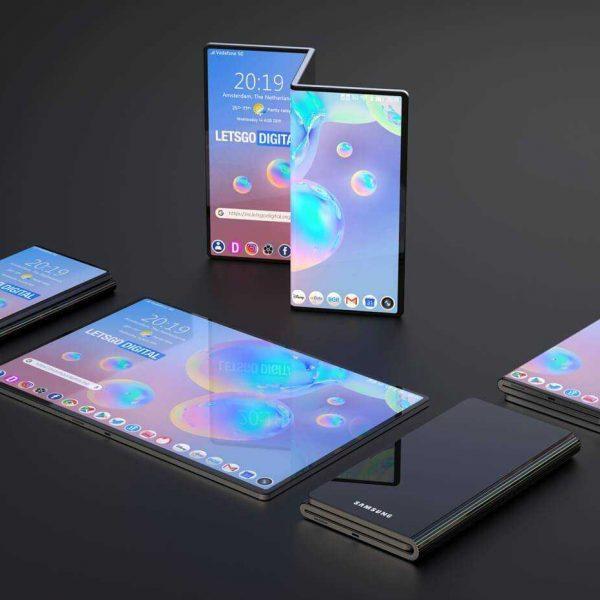 В сеть слили качественные изображения первого смартфона Samsung с двойным складыванием (ehofqak)
