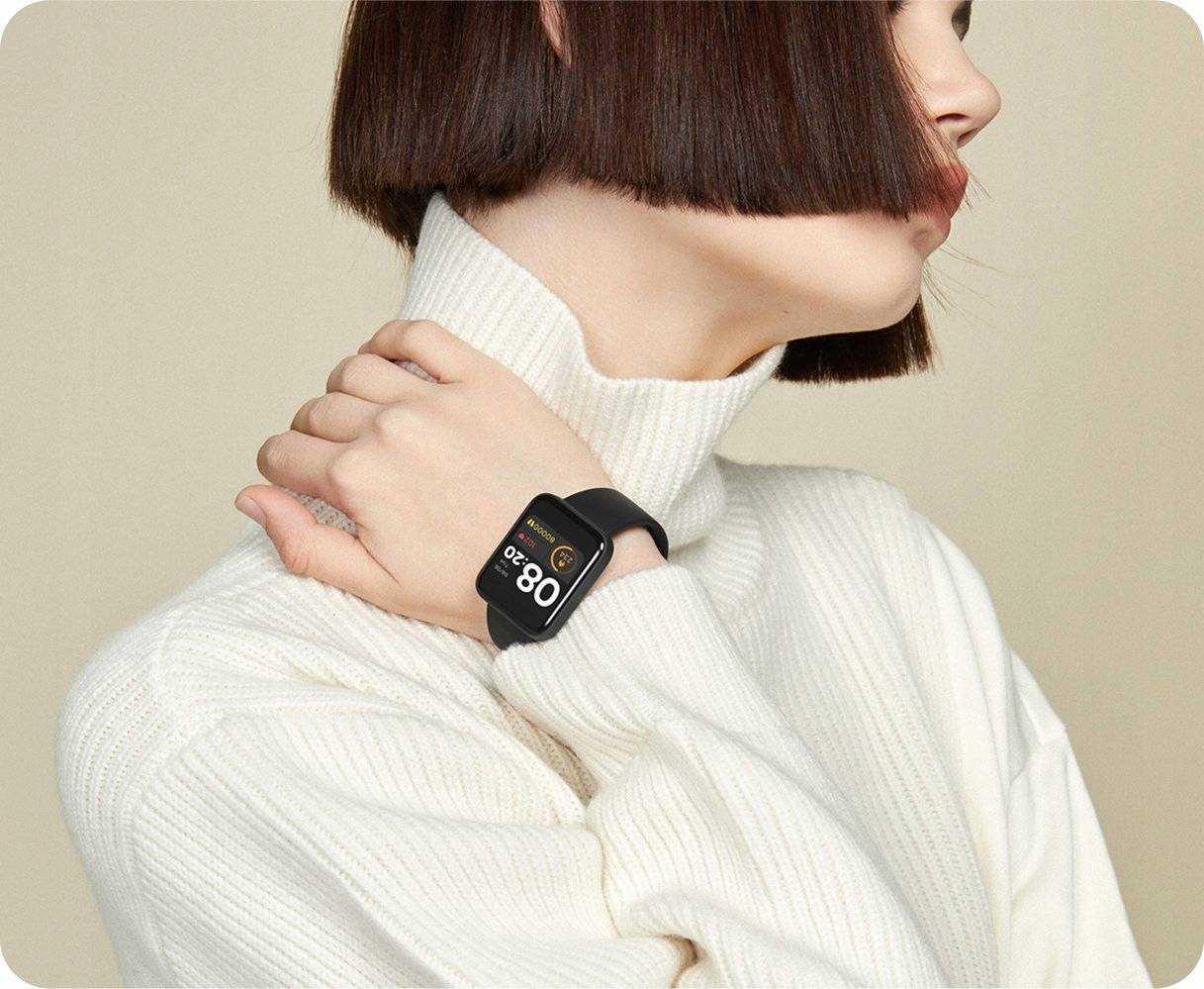 Умные часы Xiaomi Mi Watch Lite получили новые функции (eng pl xiaomi mi watch lite black 5791 5)
