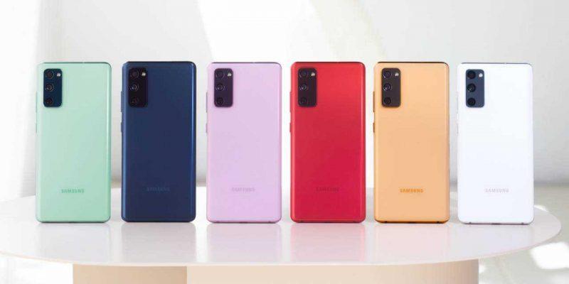 Samsung готовит бюджетную версию смартфона Galaxy S20 Fan Edition (galaxy s20 fe all colors 1280x720 1)