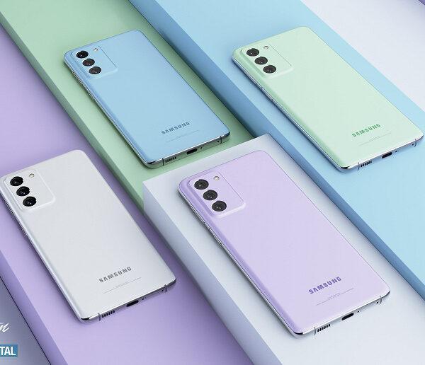 Красочные рендеры флагмана Samsung Galaxy S21 FE (galaxy s21 fe camera large)