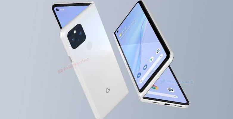 Концепт складного смартфона Google Pixel Fold появился в сети (google pixel fold)