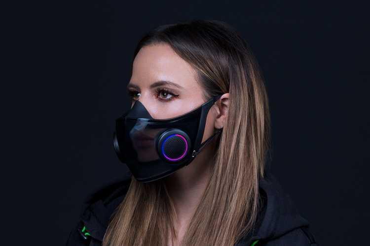 Razer запустит продажу защитной маски с RGB-подсветкой (hazelhero)