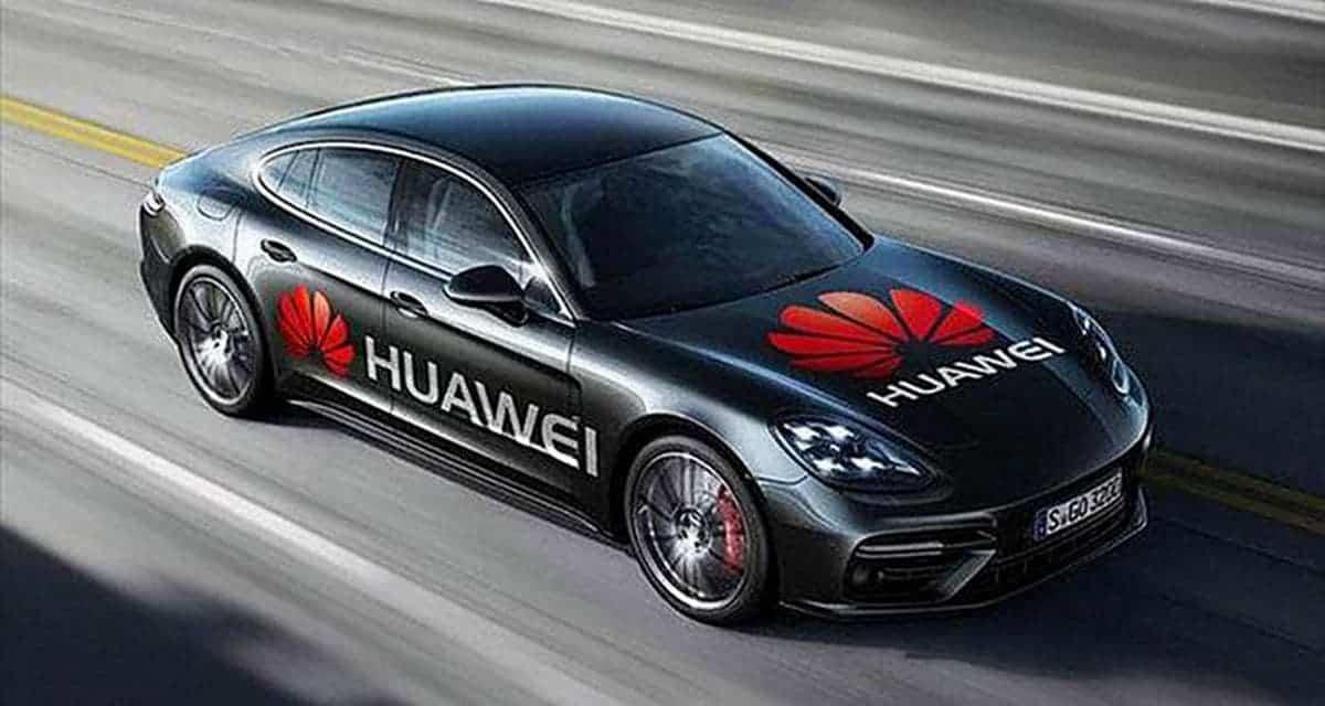 Электромобиль Huawei будет стоить 45000 долларов (huawei car)