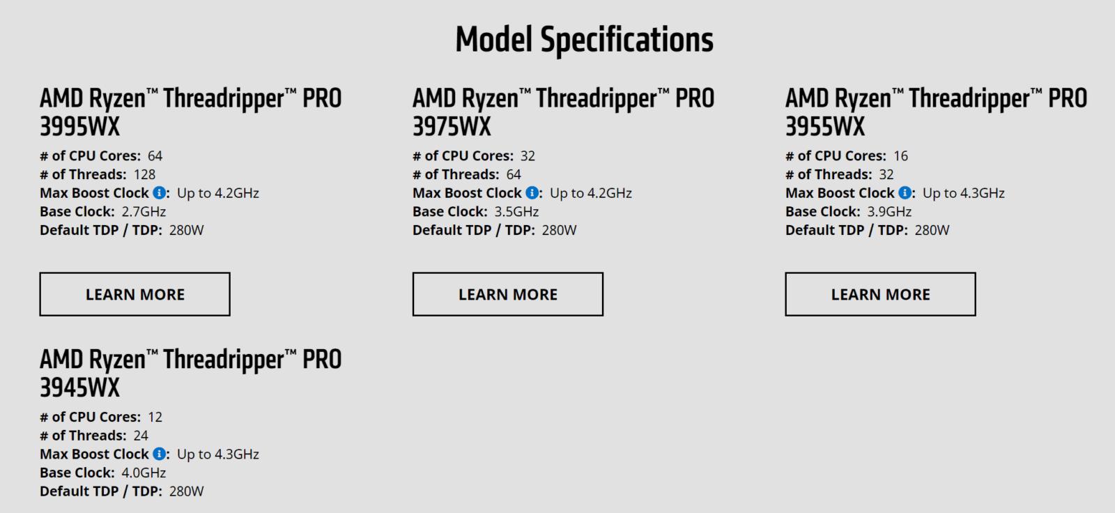 Процессоры AMD Ryzen Threadripper PRO поступили в продажу (image)