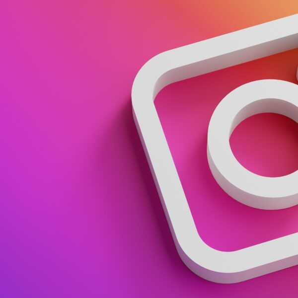 Instagram начал тестирование алгоритма по борьбе с оскорблениями (instagram logo minimal simple design template copy space 3d1 1608114949871)